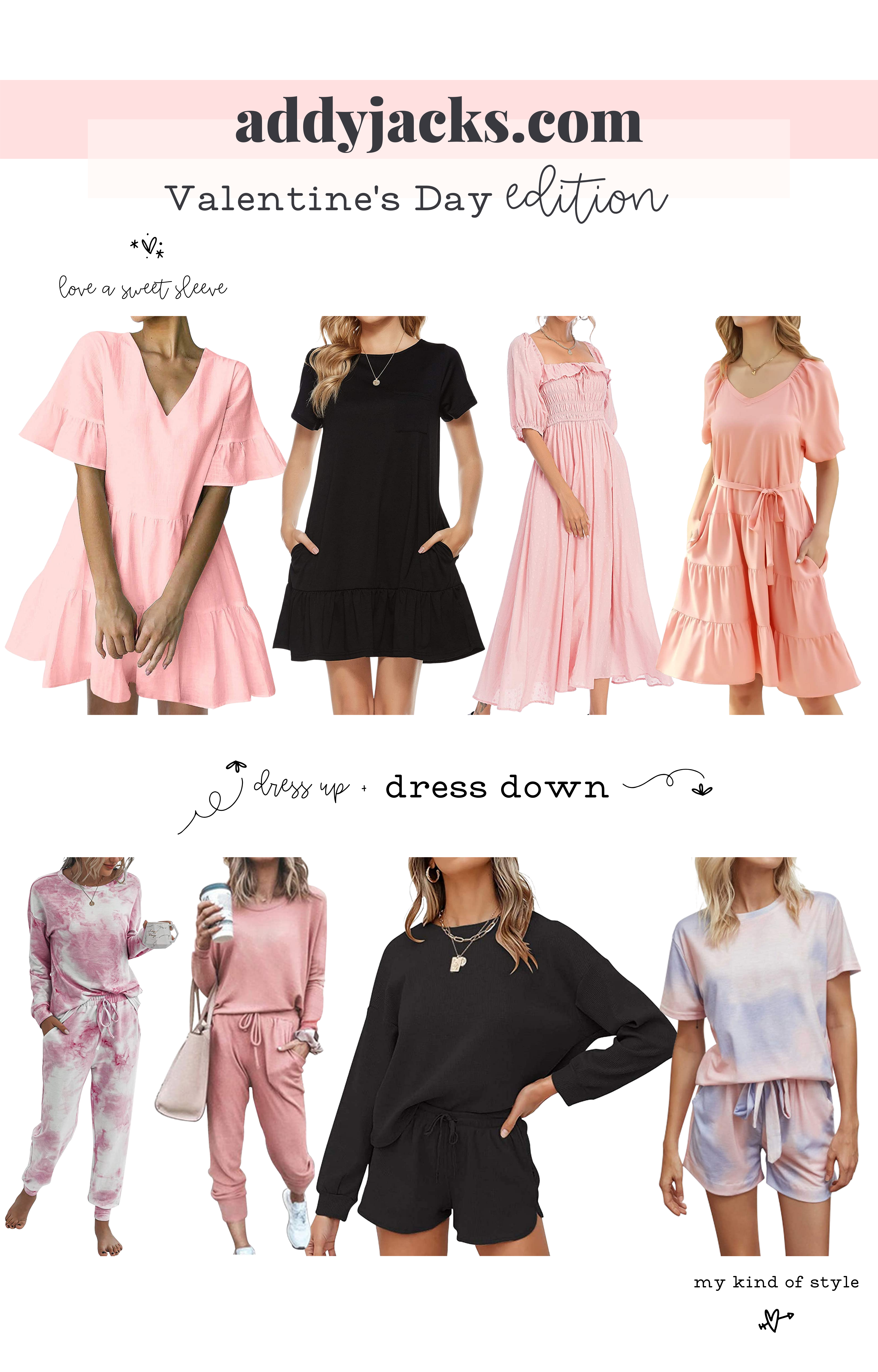 8 valentine's day outfit ideas to wear from home