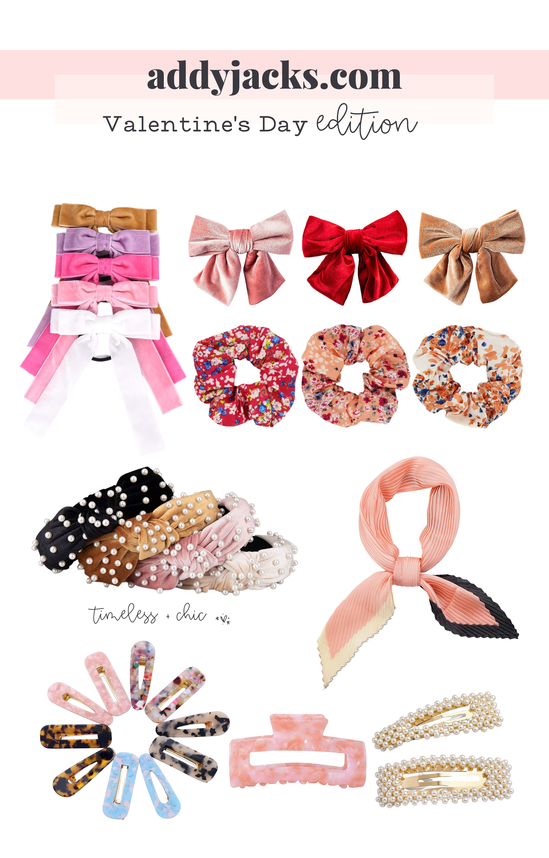 8 valentine's day hair accessories ideas to wear everyday