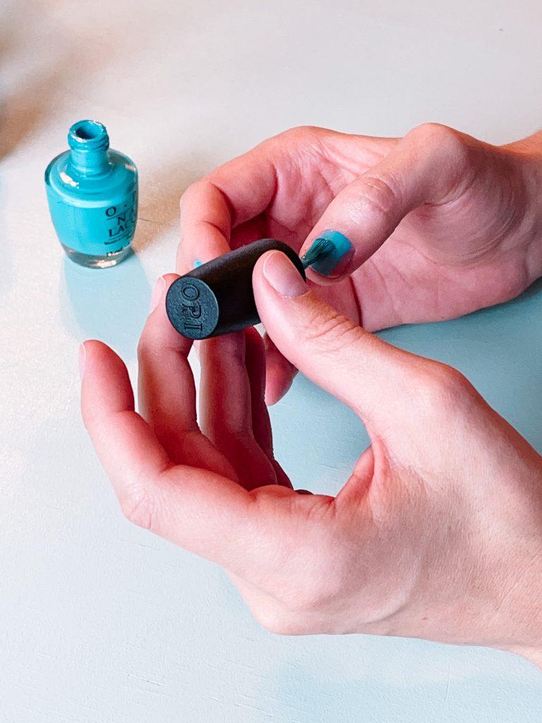 OPI pastel nail polish